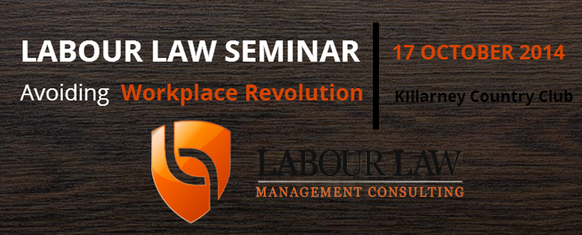 Labour Law Seminar 17 October 2014